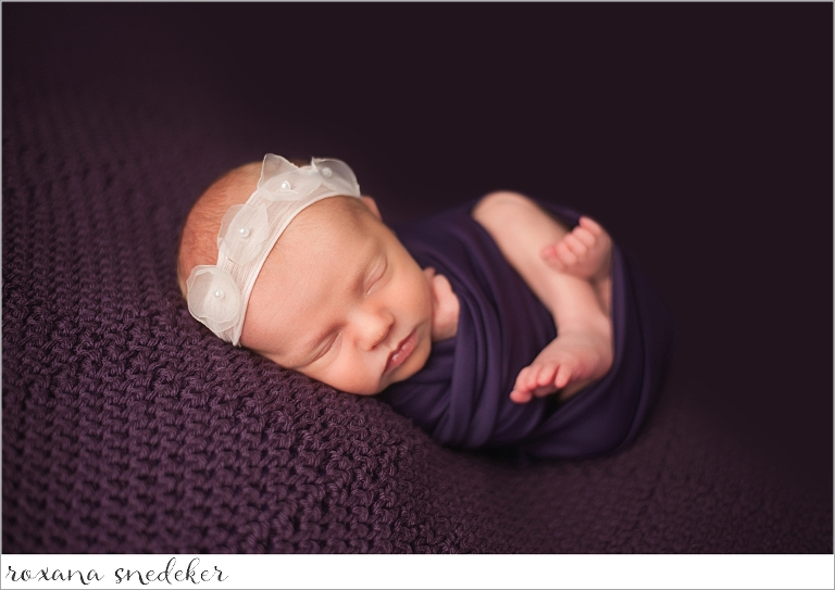 Zionsville in newborn photographer