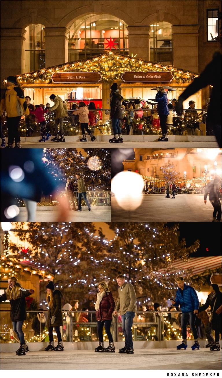 carmel christkindlmarkt Outdoor ice rink