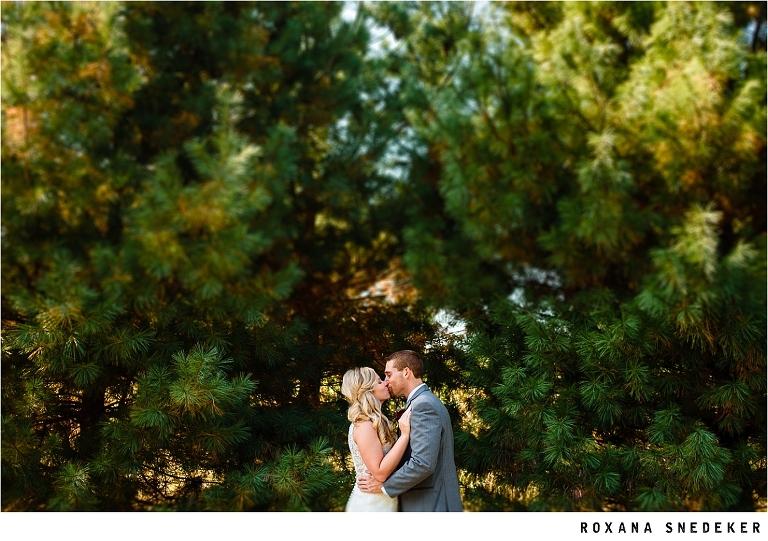 Wedding At Cosgray Christmas Tree Nursery Indiana Photographer