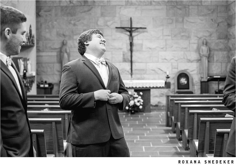 Saint Luke Catholic Church Wedding