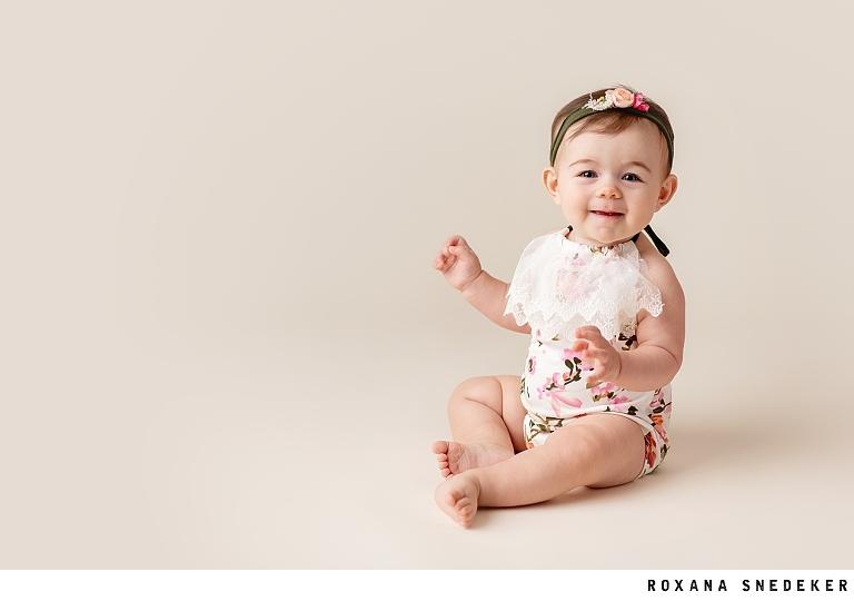 Baby Milestones Indianapolis Family Photographer