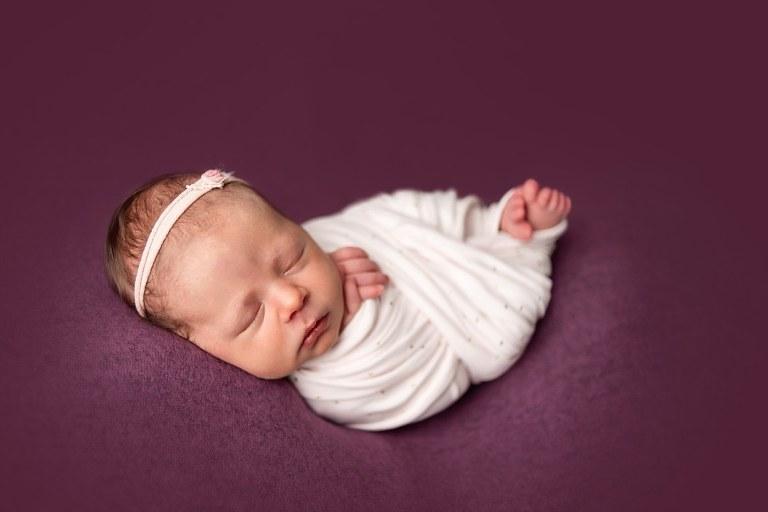 Posed Newborn Session at Noblesville, Indiana Studio | Indiana Photographer